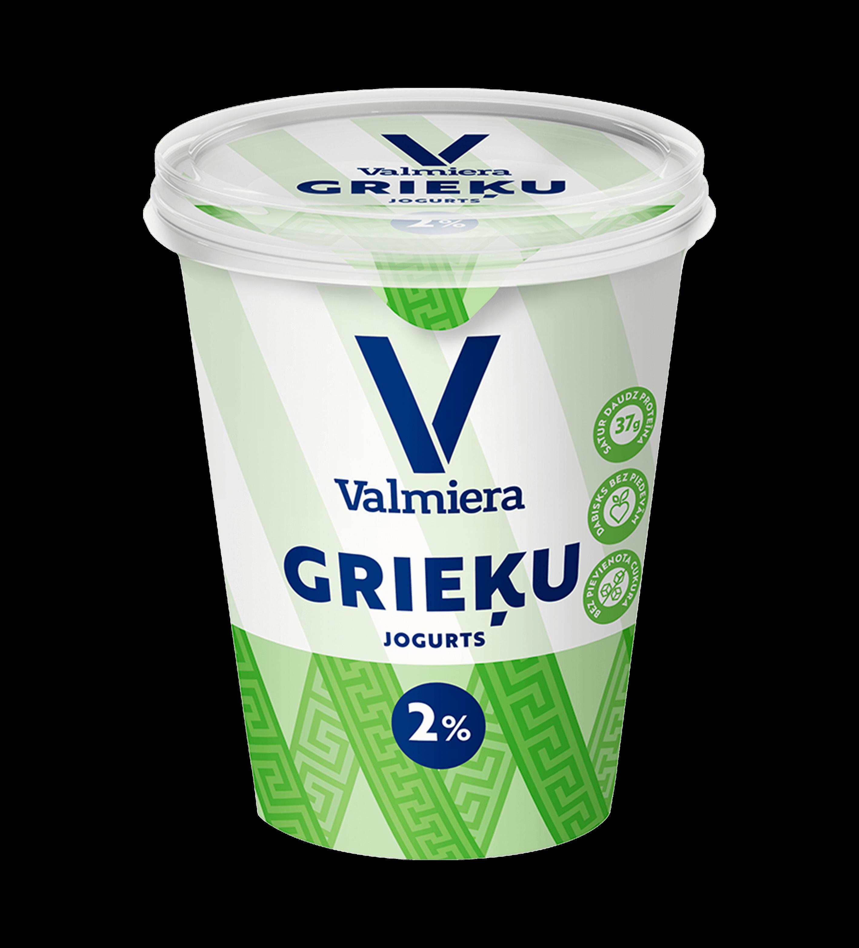 Греческий йогурт 2%, 370г
