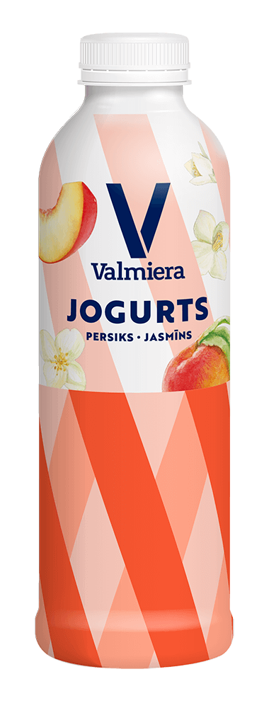 Dzeramais jogurts persiks – jasmīns, 730g
